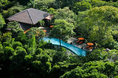 Aerial view of Bodhi Tree Yoga Resort Costa Rica