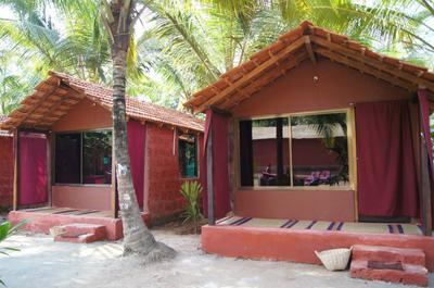 Trimurti Yoga retreat Goa- cabins